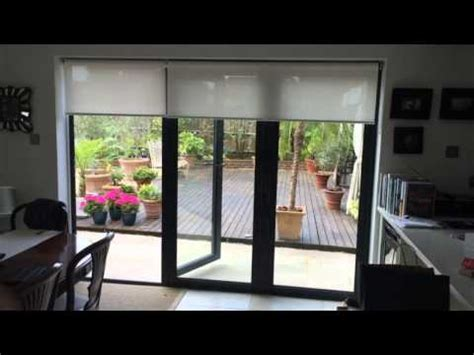 electric blinds for bi fold doors