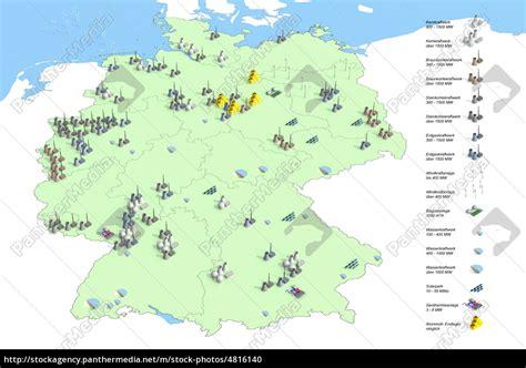 standorte kraftwerke  deutschland im jahr