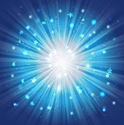 vector blue star burst background vector art ai svg