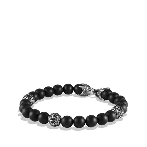 Lyst  David Yurman Spiritual Beads Bracelet With Black. Therapy Bracelet. Badass Watches. Three Diamond. Leather Cord Necklace. Engagment Wedding Rings. Woman Bands. Rhodium Engagement Rings. Crimson Necklace