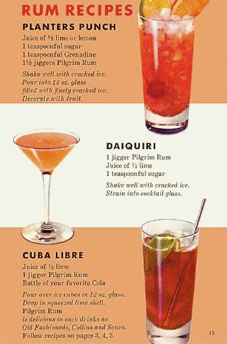 27 christmas cocktails to drink this holiday season. Farm Girl Pink....: ~ Holiday Cocktails... Pilgrim Rum...