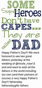 SOME Sup Heroes Don't Have CAPES They Are Happy Father's ...