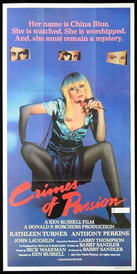 Nonton film crimes of passion (1984) subtitle indonesia streaming movie download gratis online. CRIMES OF PASSION Original Daybill Movie Poster Kathleen Turner Anthony Perkins | Moviemem ...