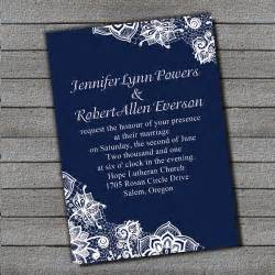 navy wedding invitations exquisite navy blue lace wedding invitation ewi264 as low as 0 94