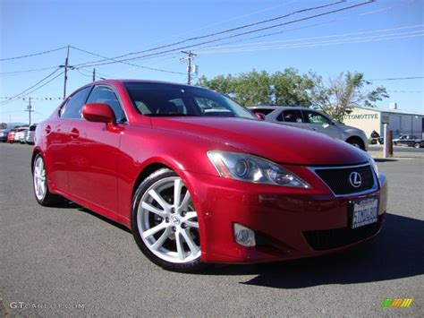 red lexus is 250 2006 2006 matador red mica lexus is 250 81987959 gtcarlot
