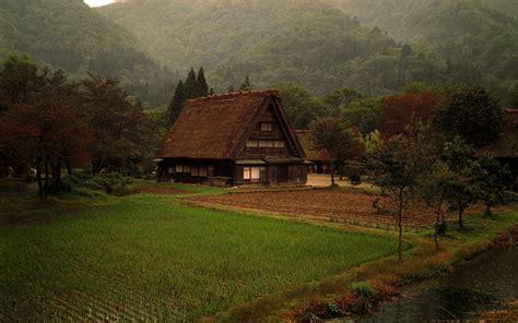 nature cabin grass forest japan wallpapers hd desktop  mobile backgrounds