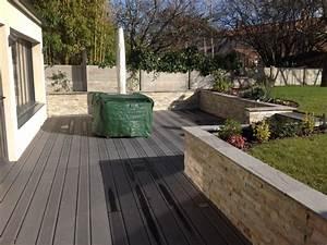 Terrasse Avec Muret : r alisation et am nagement de terrasses ext rieures ~ Premium-room.com Idées de Décoration