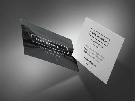 Matching Resume And Business Card by Mono Resume Www Ikono Me