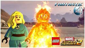 LEGO Marvel Superheroes 2 - Fantastic Four: Human Torch ...