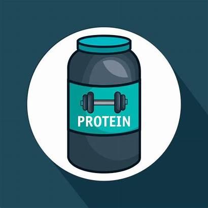 Protein Powder Vector Clip Icon Illustrations Graphics