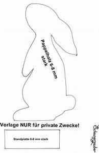 Osterhase Holz Basteln Vorlage : hase vorlage zum selber machen basteln pinterest ~ Lizthompson.info Haus und Dekorationen