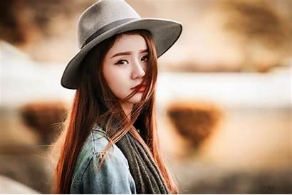 Asian Hat Portrait Face Wallpapers Desktop Mobile