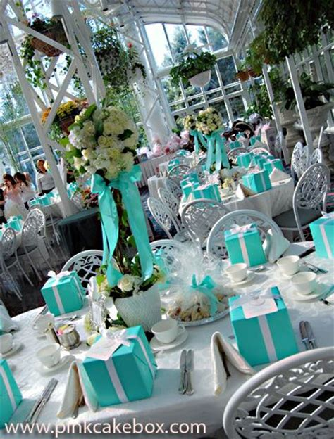 tiffany blue table decorations breakfast at tiffany 39 s tablescapes wedding ideas pinterest