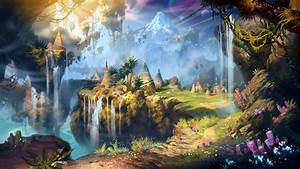 Fantasy landscape art artwork nature scenery wallpaper ...
