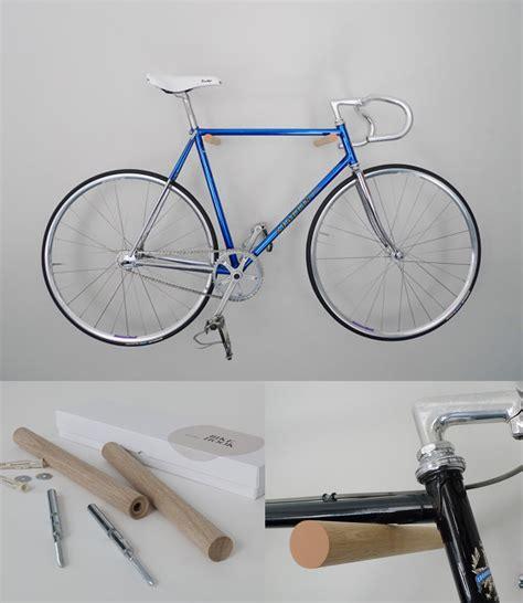 nuevas  originales ideas  guardar tu bicicleta en