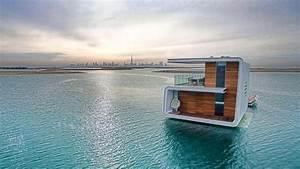 Maison Flottant Prix : duba une maison tonnante moiti dans l 39 eau ~ Dode.kayakingforconservation.com Idées de Décoration