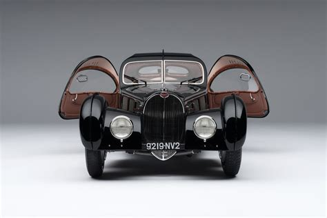 That's because, for all of its luxury fittings and deco bodywork, the type 57 was fundamentally. 1938 Bugatti Type 57SC Atlantic - La Voiture Noire at 1:8 ...