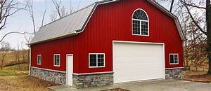 4 amazing metal building homes With amish pole barn builders indiana