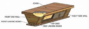 Free Diagram And Plans For A Top Bar Hive