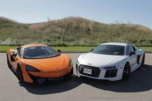 Audi R8 V10 Plus : 2017 audi r8 v10 plus vs mclaren 570s news ~ Melissatoandfro.com Idées de Décoration