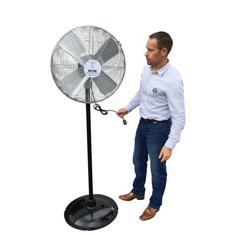 industrial stand up fan high velocity floor standing industrial pedestal fan 24