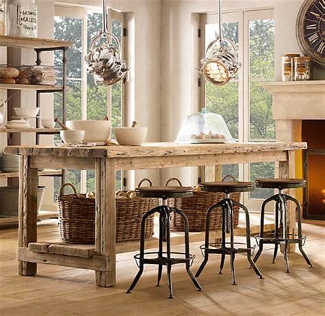 table ilot de cuisine tables îlot de cuisine 10 superbes suggestions maison
