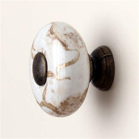 antique cabinet hardware knobs 26mm vintage round marbleized ceramic drawer knobs kitchen