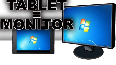 android tablet as second monitor how to use a tablet as a secondary monitor