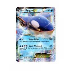 pokemon promo card kyogre ex xy41 brand new p838