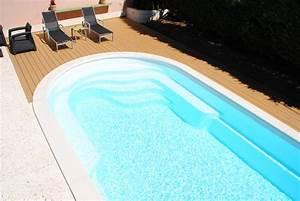 Prix Pose Liner Piscine 8x4 : prix d 39 une piscine coque 8x4 installer soi m me avec livraison sur strasbourg istres ax o ~ Dode.kayakingforconservation.com Idées de Décoration