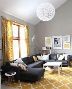 Décoration Salon Jaune Moutarde : la couleur jaune moutarde nouvelle tendance dans l 39 int rieur maison ~ Melissatoandfro.com Idées de Décoration