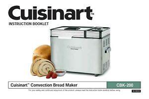 Collection by jennifer ruiter • last updated 8 days ago. Cuisinart CBK-200 Bread Machine Maker Instruction Operator Maint Manual RECIPES | eBay