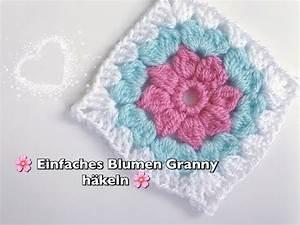 Granny Squares Häkeln : einfaches blumen granny square h keln super f r anf nger geeignet youtube ~ Orissabook.com Haus und Dekorationen