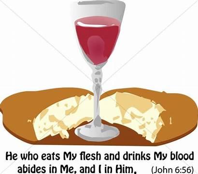 Communion Clipart John Verse Bread Clip Am
