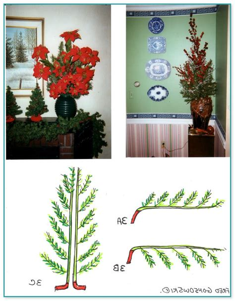 awesome picture of recycle artificial christmas tree