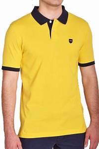 Polo Eden Park Homme : eden park polo jaune uni ppknipoe0002 polo pour homme ~ Melissatoandfro.com Idées de Décoration