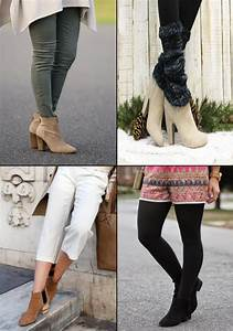 How to Wear Ankle Boots with Jeans Skirts and Dresses ...