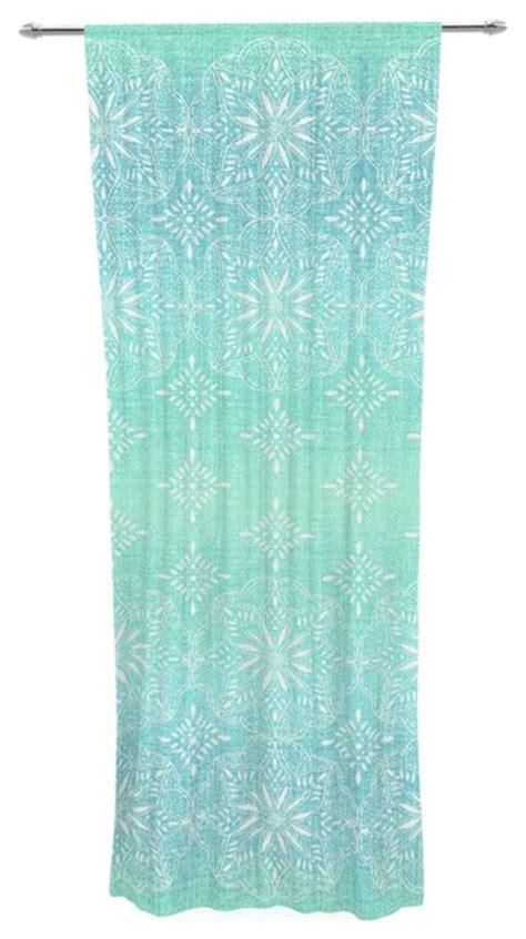 tremel quot medallion aqua ombre quot blue teal decorative
