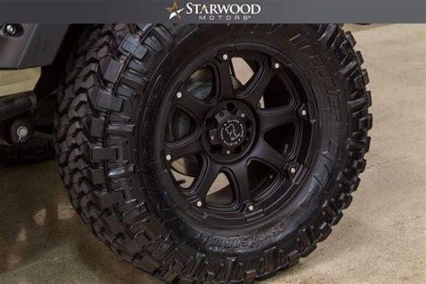 chjwdghl  jeep wrangler unlimited sport tan black lifted custom wheels tires