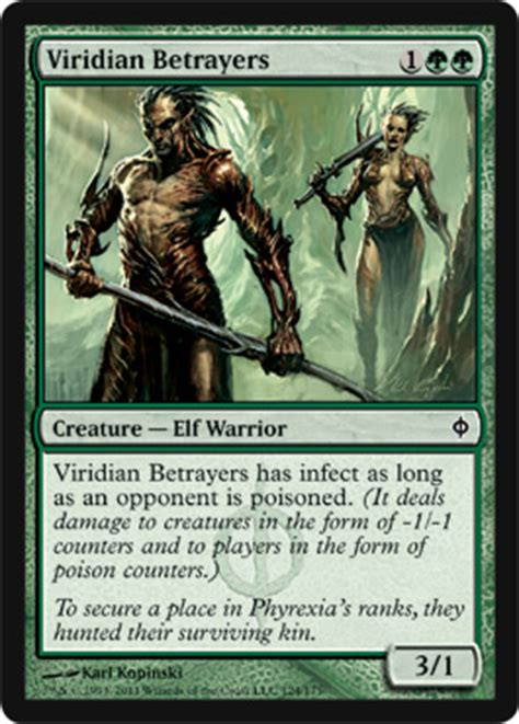 New Phyrexia Green Event Deck by Viridian Betrayers New Phyrexia Magic The Gathering
