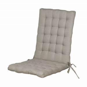 Coussin Fauteuil Jardin : superbe coussin pour chaise de jardin 1 coussin de chaise fauteuil bao gris 40 x 90 cm ~ Teatrodelosmanantiales.com Idées de Décoration