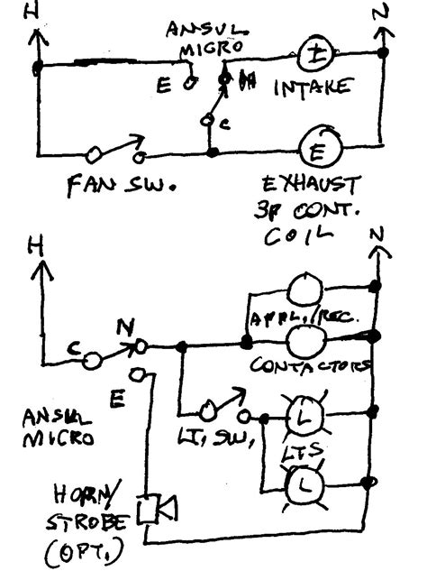 ansul system wiring diagram ansul system wiring electrical contractor talk
