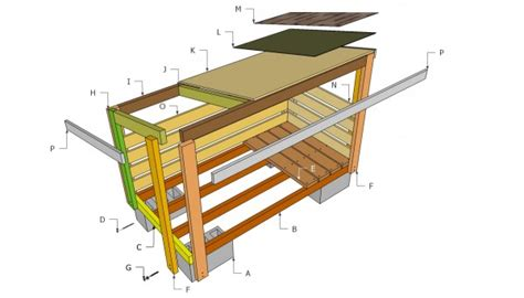 firewood shed plans myoutdoorplans  woodworking
