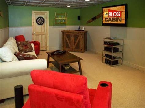 basement  diy network blog cabin  diy network