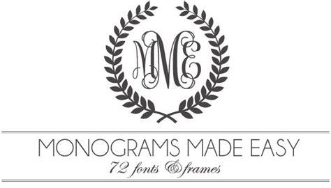 monograms  easy  fonts frames monogram fonts monogram  monogram
