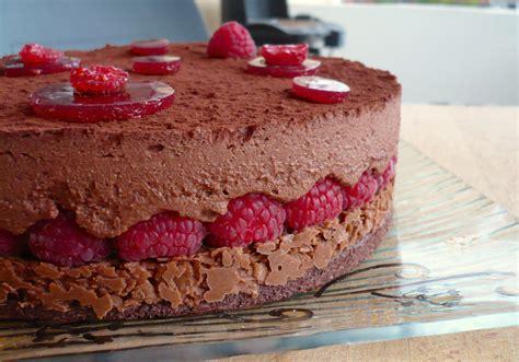 dessert chocolat framboise facile royal chocolat framboise la cuisine de micheline