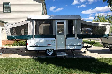 coleman  fleetwood santa fe trailer rental  hill