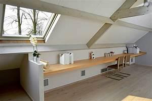 Schreibtisch Zum Hochklappen : 61 besten dachboden bilder auf pinterest dachgeschosse dachausbau und dachgeschoss schlafzimmer ~ Sanjose-hotels-ca.com Haus und Dekorationen