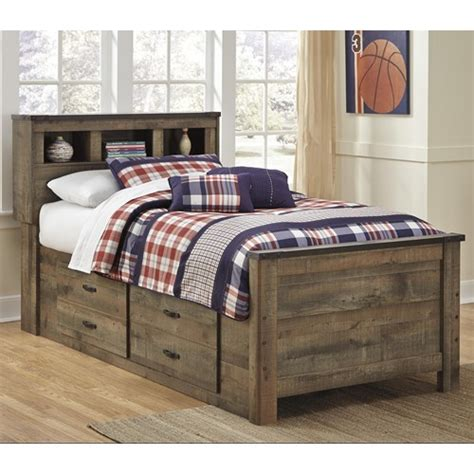trinell bookcase bed  drawers beds kids room