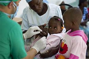 Haiti Sees Declining Cholera Rates, Significant Gains in ...